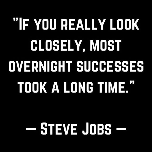 mastery can look easy #stevejobs #goingthedistance #transformation #inspiration #transitionpoint