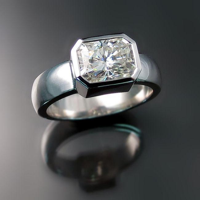 Moissanite Engagement Rings