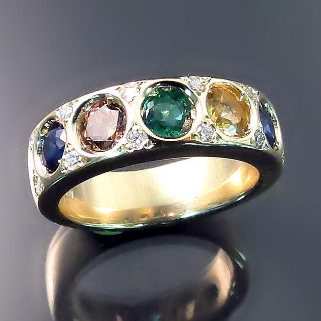 Custom Family Birthstone Jewellery