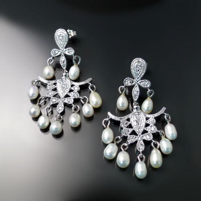 Chandelier Bridal Earrings