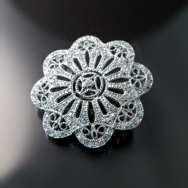 Imitation Diamond Bridal Jewelry