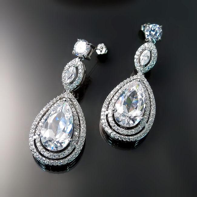 Statement Bridal Jewelry