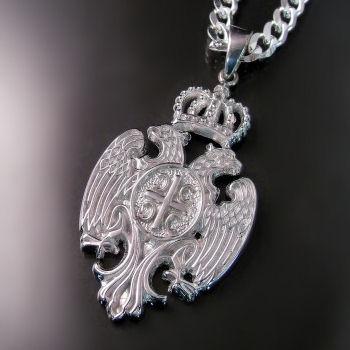 Serbian Eagle Pendant