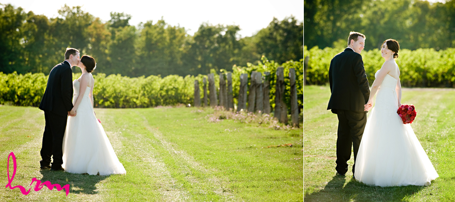 beautiful winery wedding in Jordan Ontario Niagara Wine Country