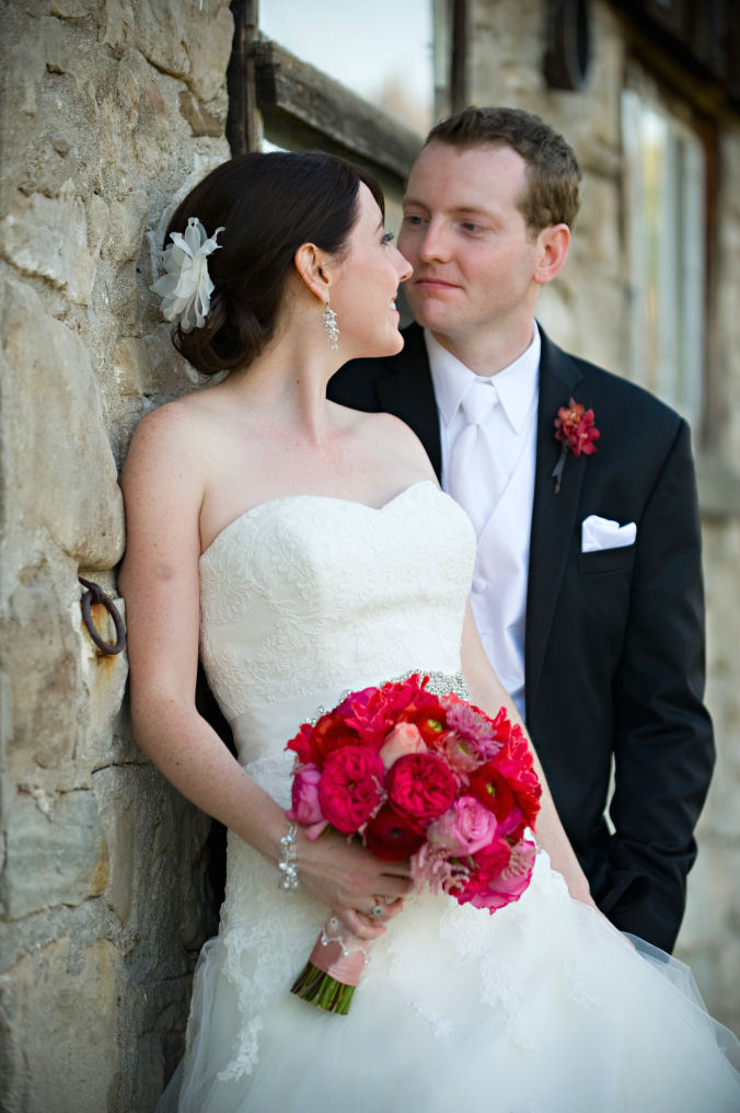 Beautiful bridal jewelry - long elegant pearl and crystal earrings by Maja P Kogut