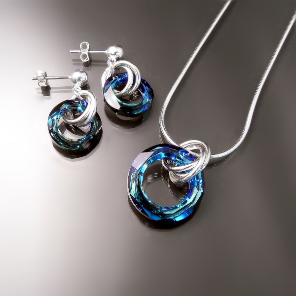 Swarovski crystal jewellery at Downtown Hamilton Jewellers Zoran Designs serving Burlington and Oakville
