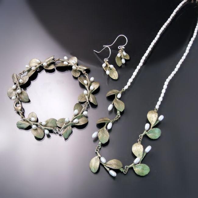 botanical jewellery irish thorn necklace bracelet earrings