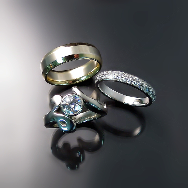 custom engagement rings and wedding bands hamilton ontario
