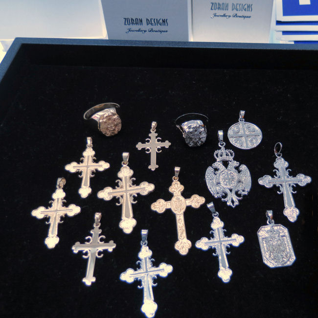 Serbian Jewellery and Crosses