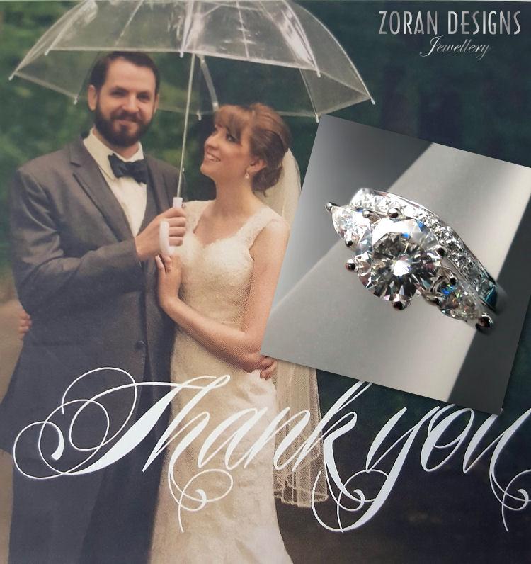 Custom engagement rings & wedding bands