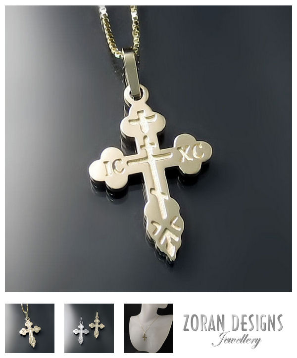 Classic and traditional style Orthodox Crosses