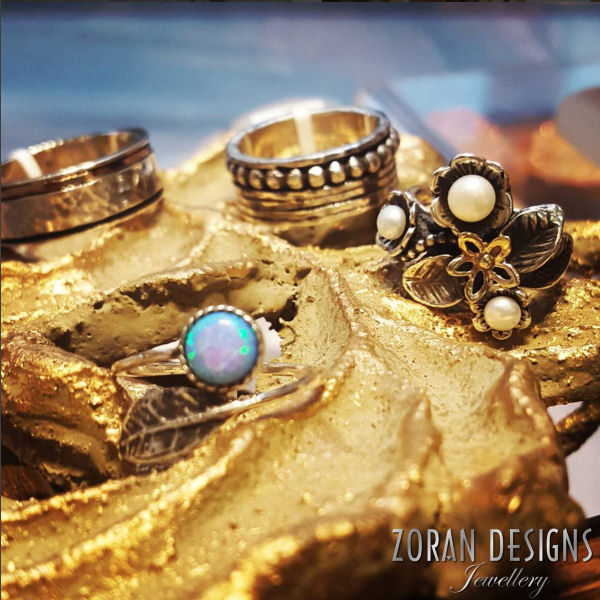 Artisan jewellery: handmade rings