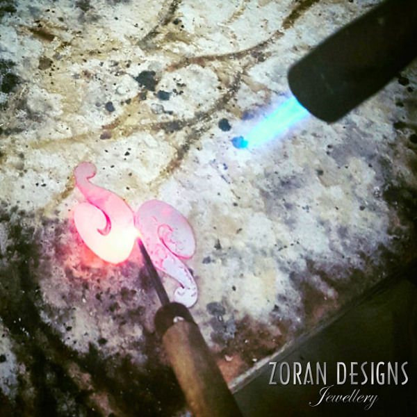 Jewelry making: soldering