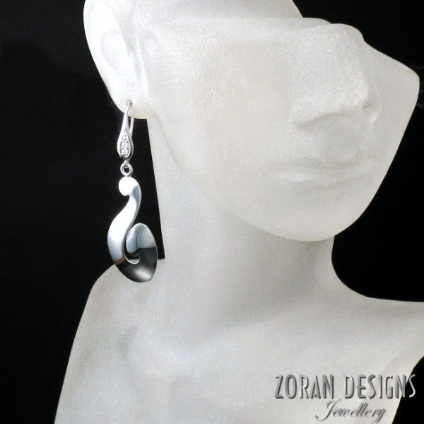 Beautiful earrings from the LUCID jewelry collection.