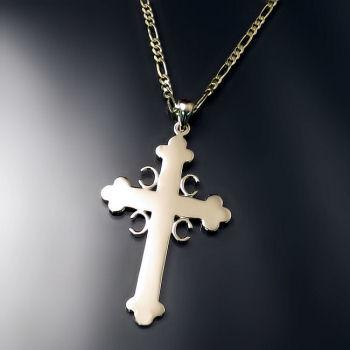 Serbian cross with 4 Cs LARGE - Sprski Krst sa 4 S ZD-A1-LG