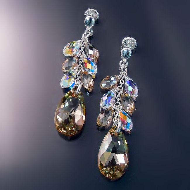 Swarovski crystal bridal jewellery
