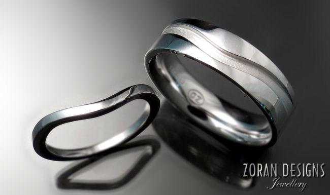 Custom Wedding Bands - Zoran Designs Jewellery