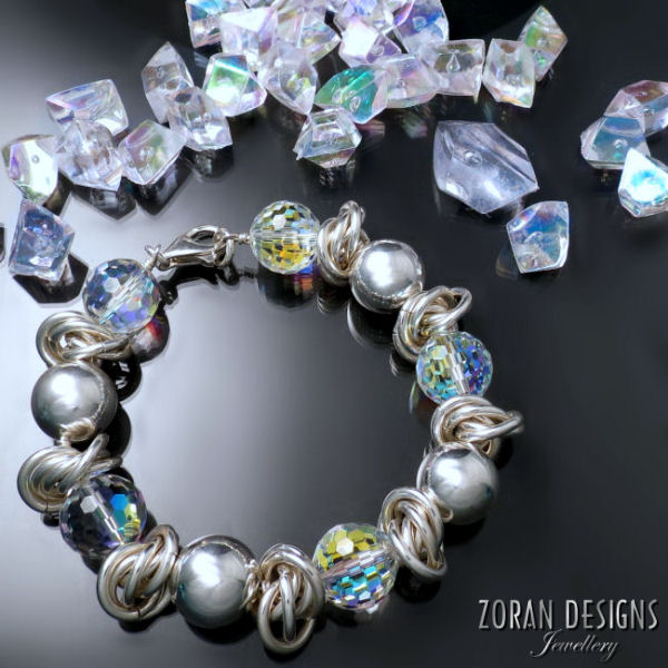 Swarovski Crystal Jewellery: statement bracelet