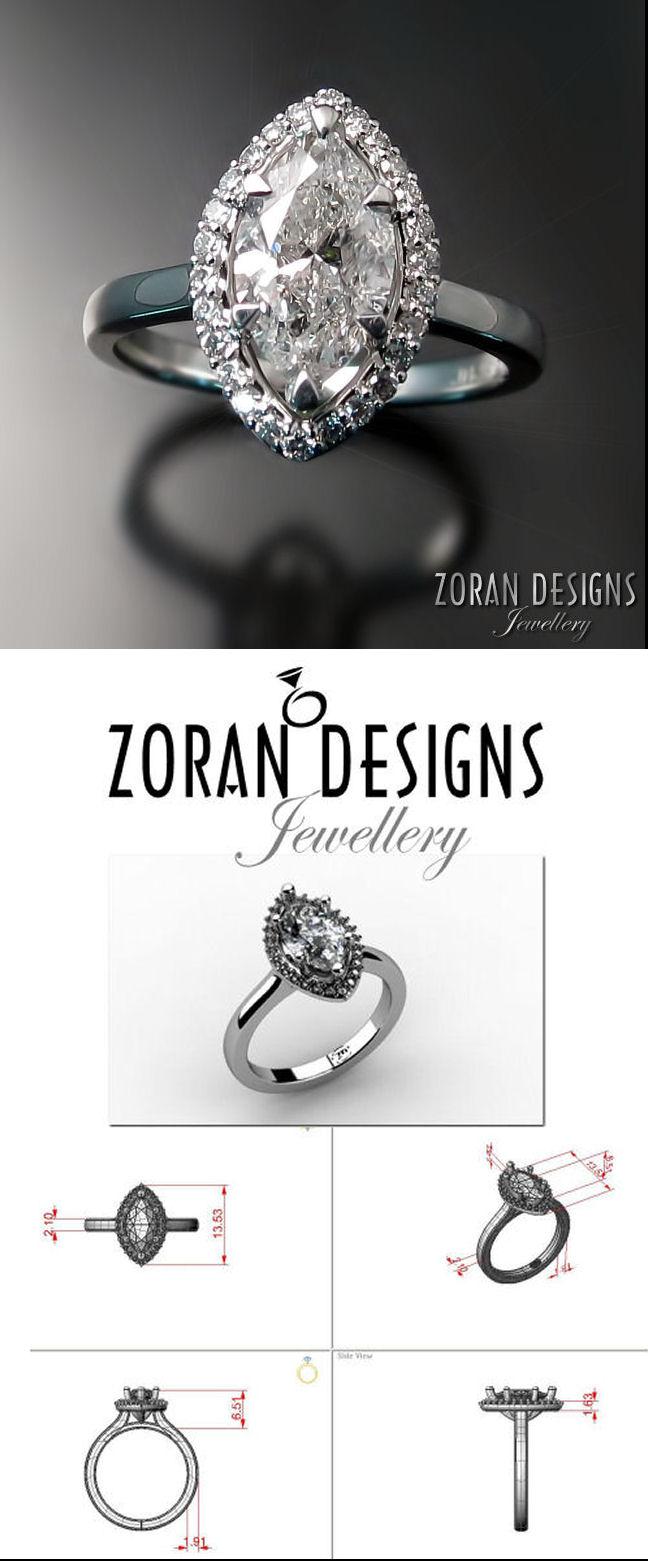 Custom made engagement ring