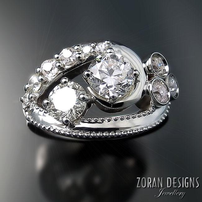Custom Jewelry Designer: one of a kind rings