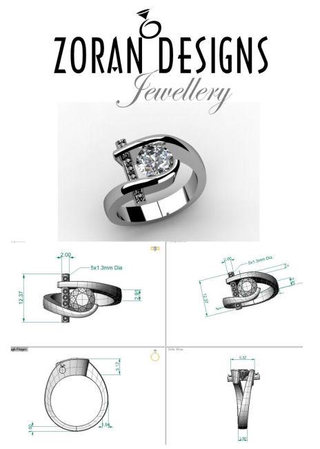 Custom jewellery designer Hamilton ON