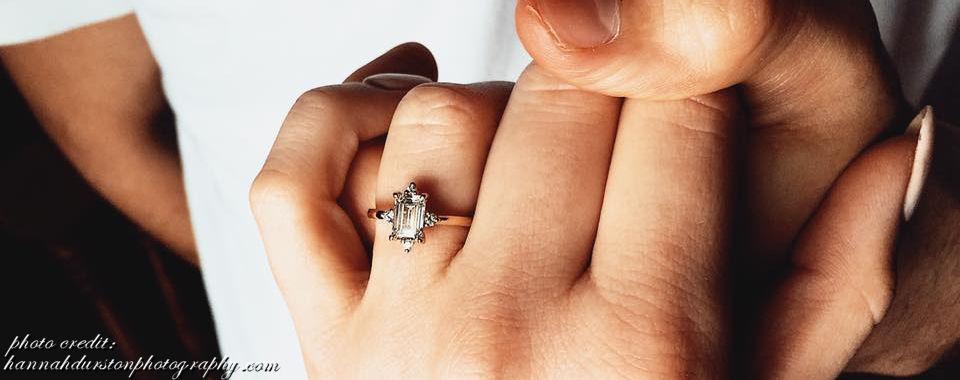Custom made engagement rings greater Toronto jeweller