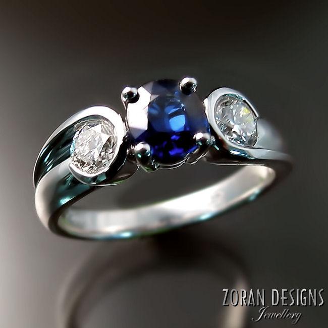Bepsoke engagement ring