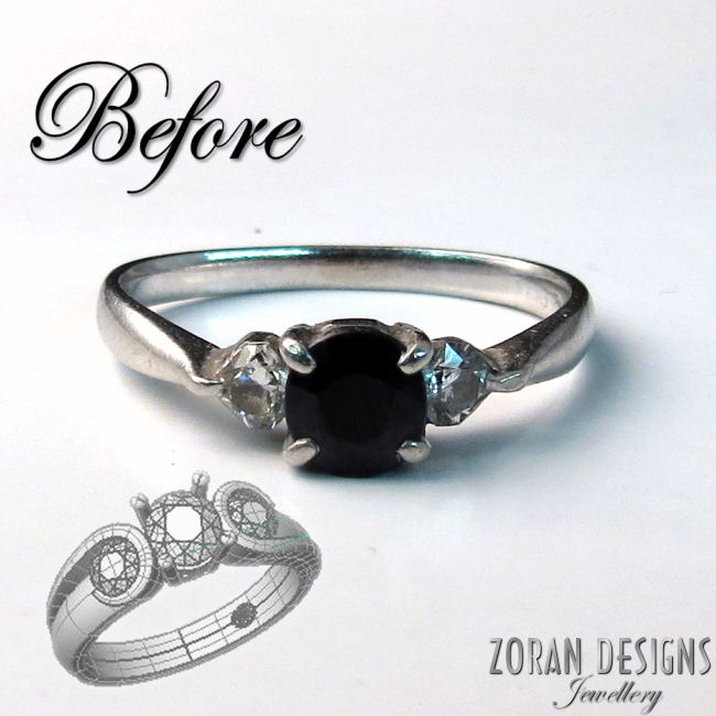 A new design for this engagement ring