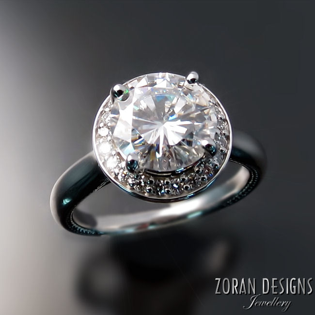 Moissanite Engagement Rings Toronto