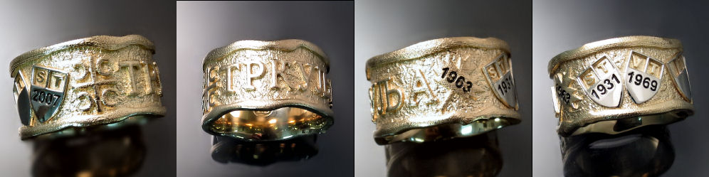Men's Family Ring