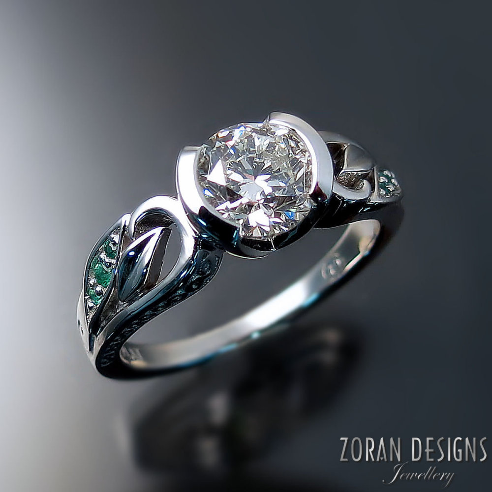 unique-engagement-rings-nature-inspired-leaf-design-platinum-diamond-emeralds.jpg