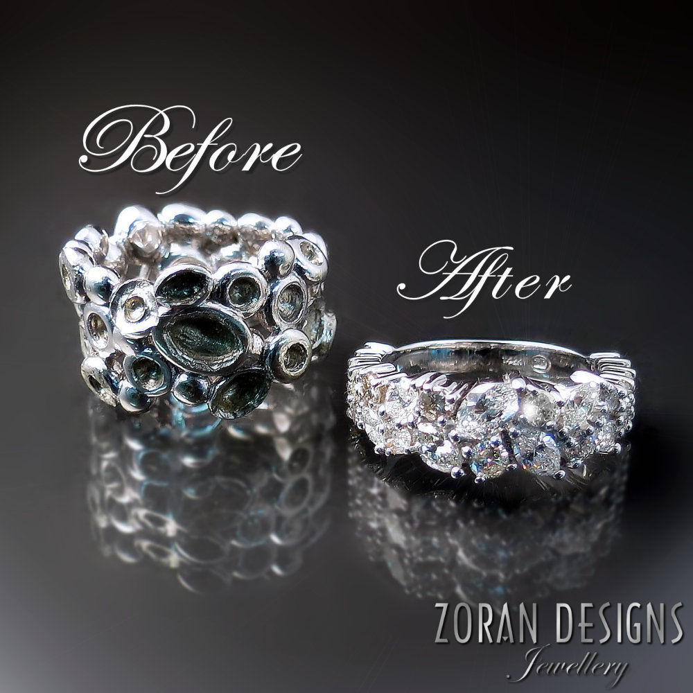 "Jewellery redesign ""Before and After"""