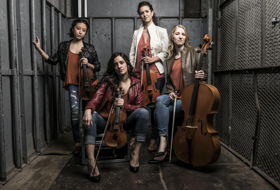 KAIA String Quartet (Photo by Todd Rosenberg)