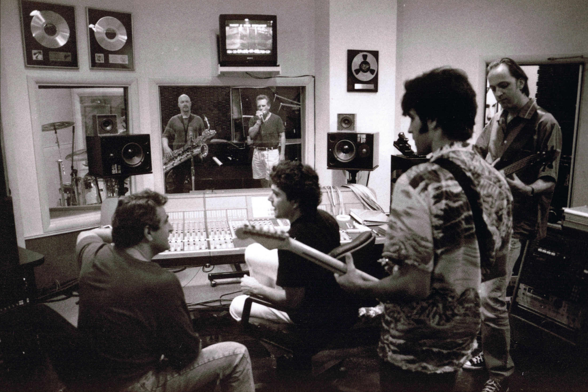 2 Days in the Valley Session - in the recording studio