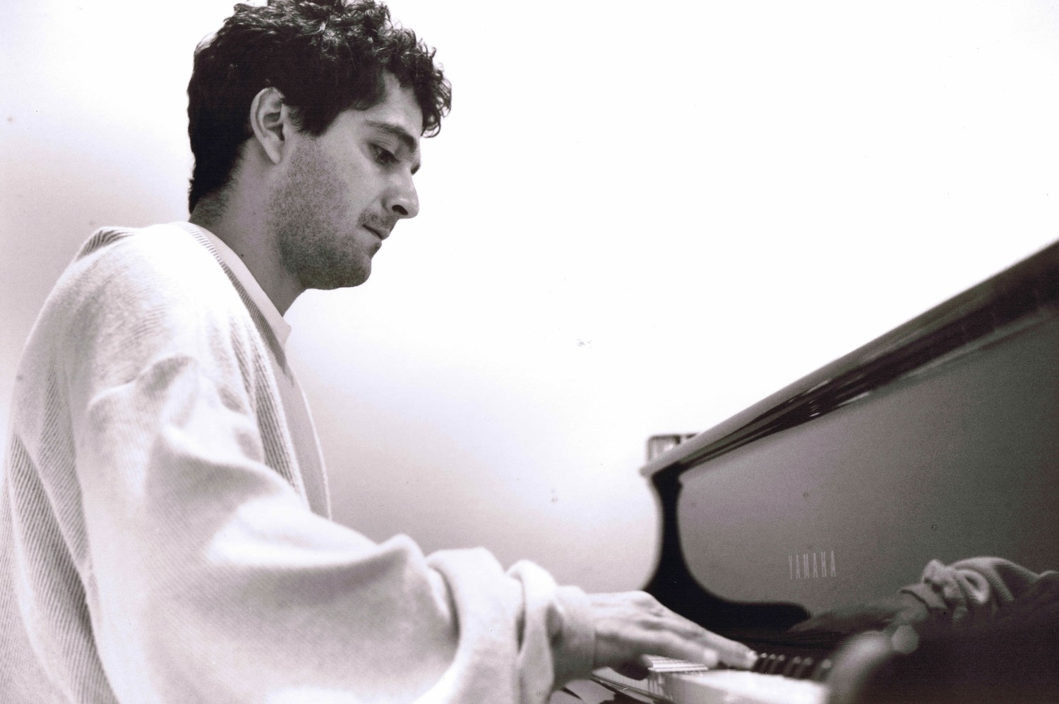 Anthony Marinelli at the piano in his studio, Hollywood, CA, 1994