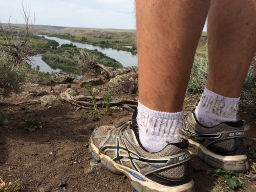 Several socks were sacrificed in the quest to reach this view point