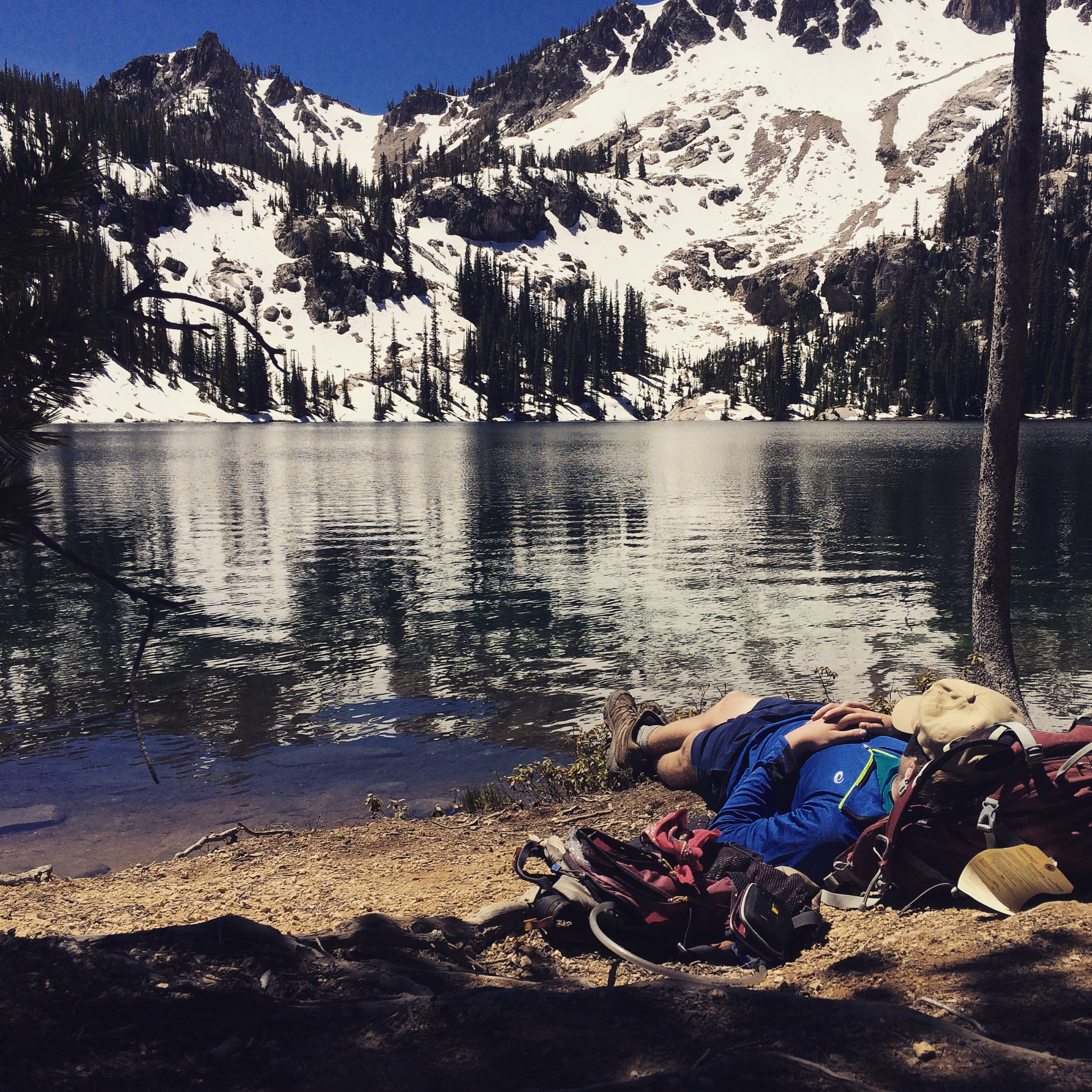 writing this post has helped to ease some fears--we've had our hard times, but we've taken some amazing naps next to glacially fed lakes in Idaho