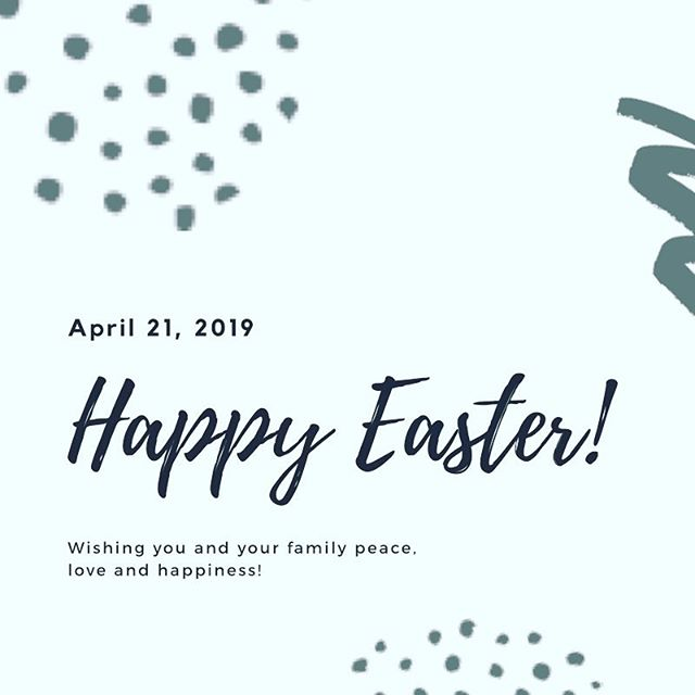 Happy Easter everyone! We hope your day is filled with love and laughter! #eastersunday #easter #happysundayeveryone #happysunday #easterbunny