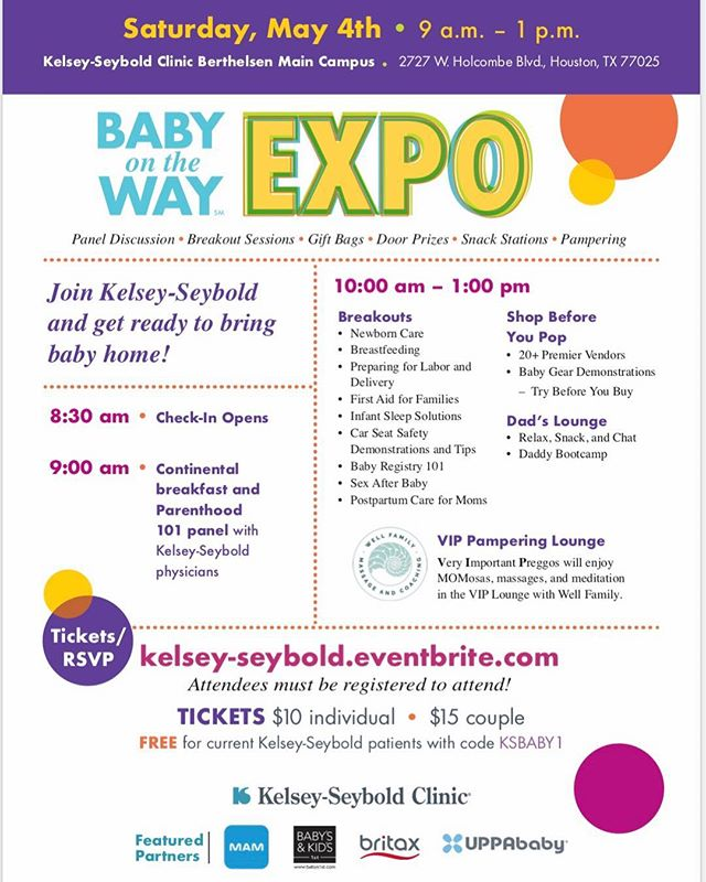 So excited for today!! Come say hi and let us tell you about our Pre-natal & Newborn Care Services! #bestbudsbabysitting #newborncare #houstontx #houstonmoms