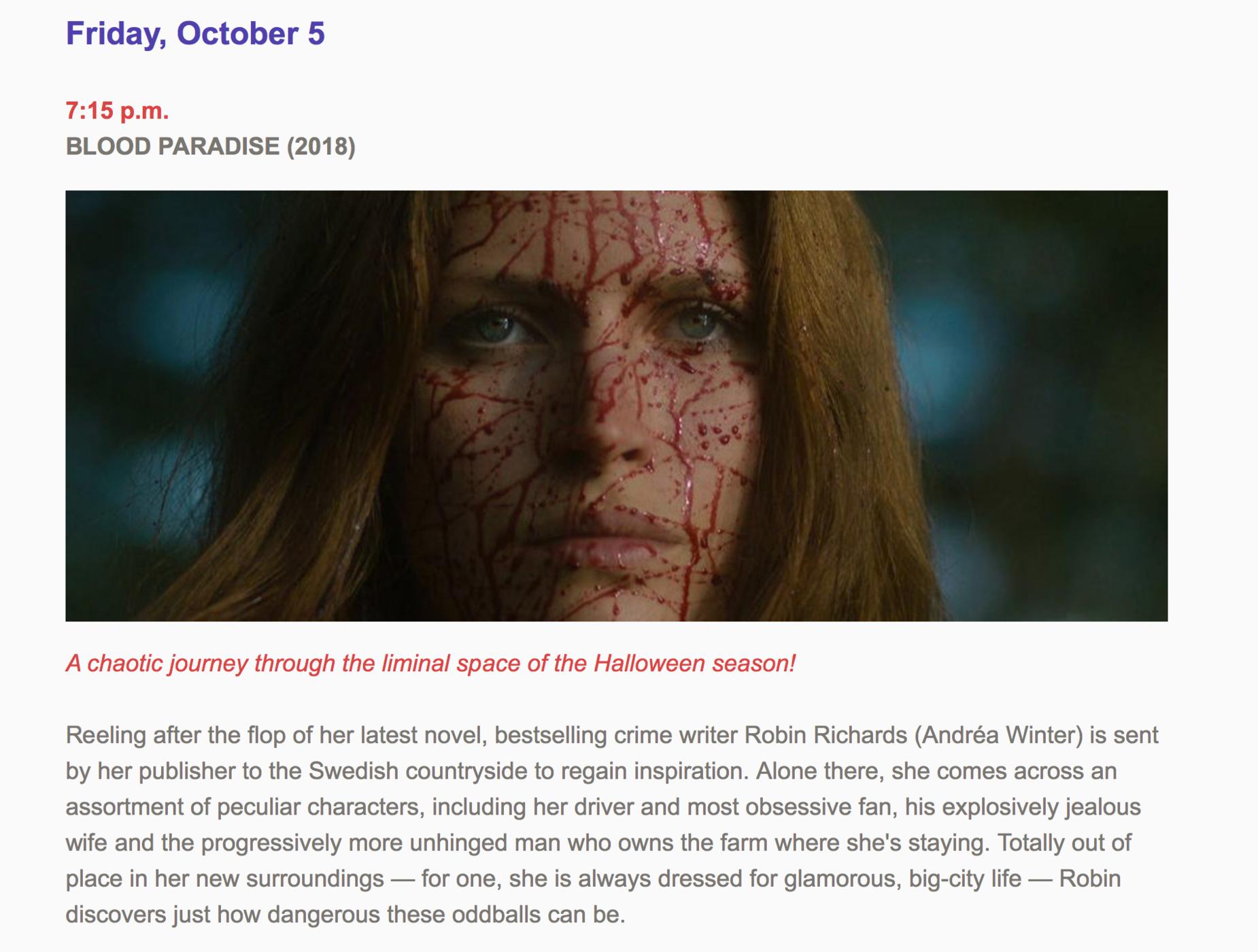 Spooky MOvie fest / Blood Paradise/ Patrick von Barkenberg.png