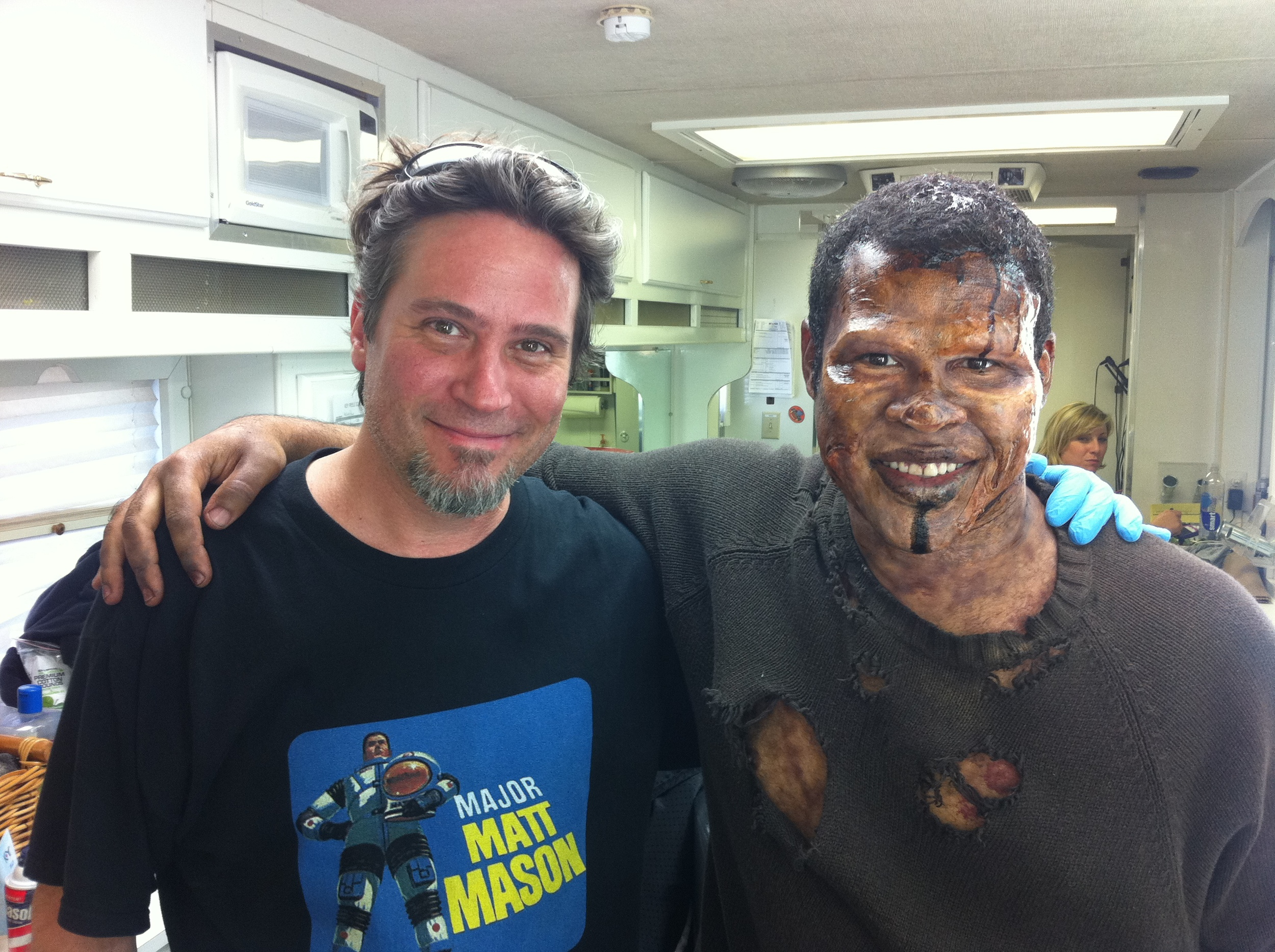A zombie make-up I did on Jordan Peele for a skit on Key and Peele.