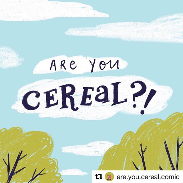 @rainbowfish523 and I are launching a summer webcomic about a bunch of silly kids :) follow us on @are.you.cereal.comic !! #Repost @are.you.cereal.comic with @get_repost ・・・ Are you looking for a webcomic this summer that's full of goofball characters, infinite possibilities, and wacky antics that will leave you asking are you cereal?! Look no further! Are You Cereal?! is a coming your way in exactly one week from today!! . Created by the ingenious and strange brains of @abhi_alwar & @rainbowfish523 . . . . . #AreYouCereal?! #AreYouCerealComic #webcomic #cereal #AYCC #summer #comic #cartoon #illustration #illustrated #illustrationartists #summerfun #summer2019 #procreate #digitalart #lettering #typography #humor #comics #kidlit #artistsofinstagram #artistsoninstagram #digitalart