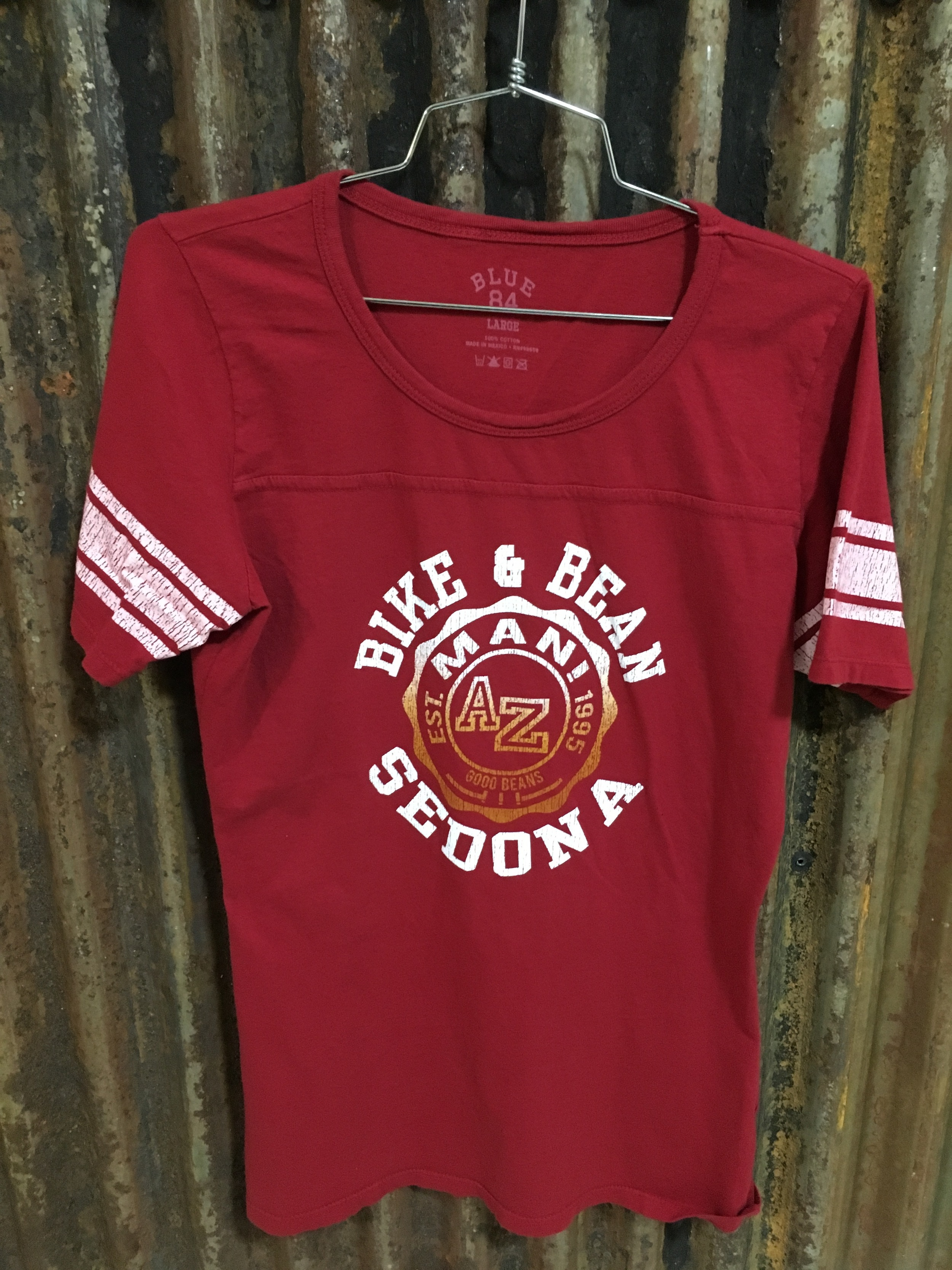 Red Baseball- Small-XL Juniors Sizing $21.99