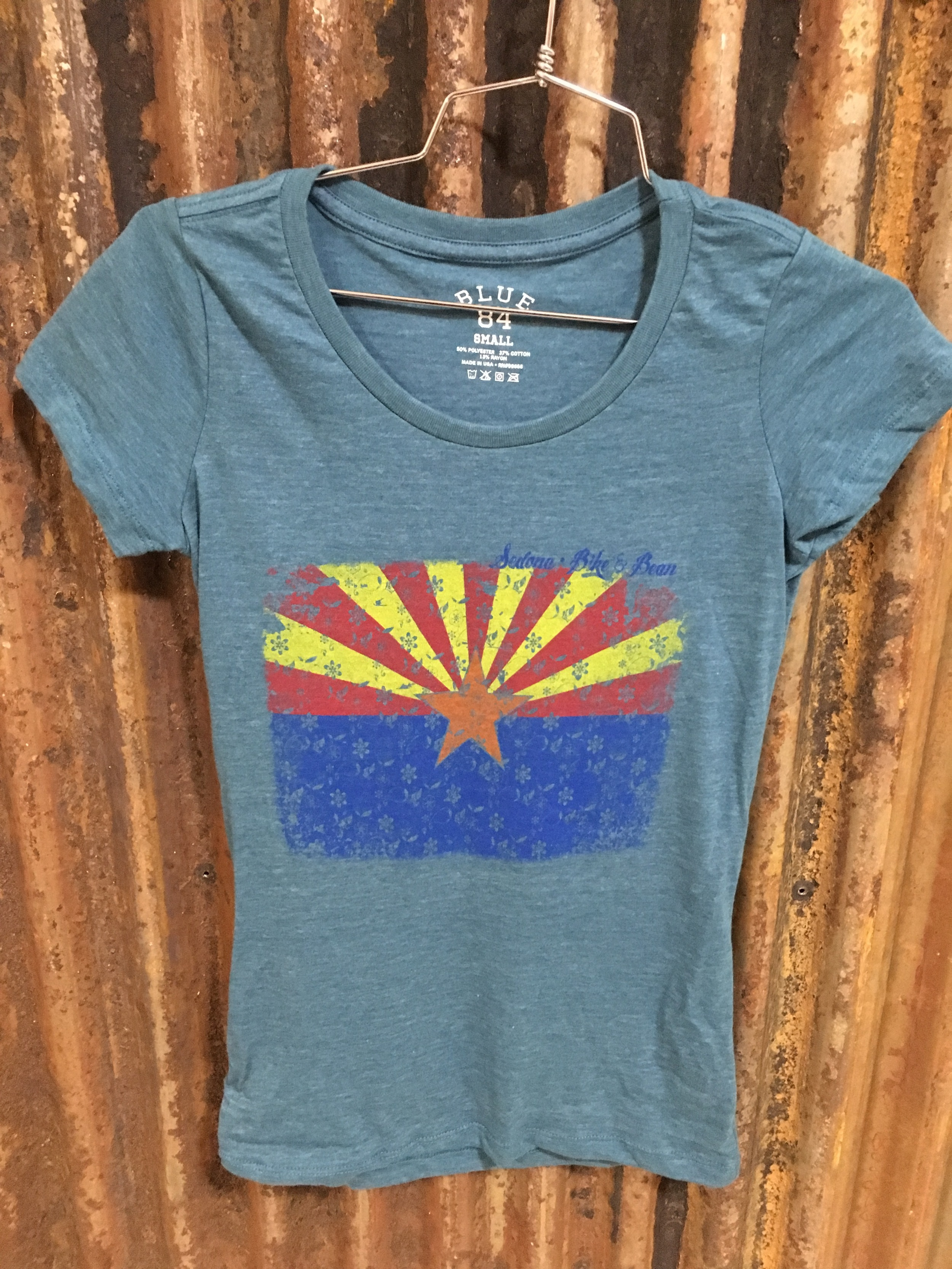 AZ Flag Blue Small-XL Juniors Sizing $21.99
