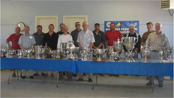 Trophy Table – 135th Annual M.P.R.A. Prize Meet (5-7 Aug 2017)