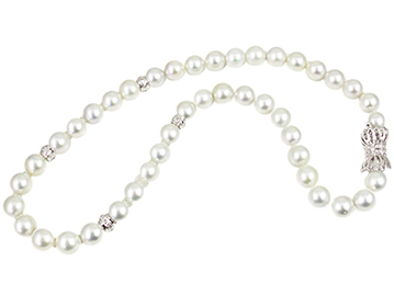 Click here to learn more about our bead & pearl stringing services.