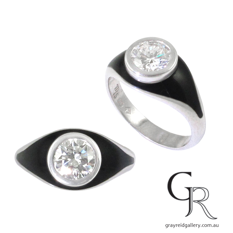 BESPOKE CONTEMPORARY RING DESIGNS