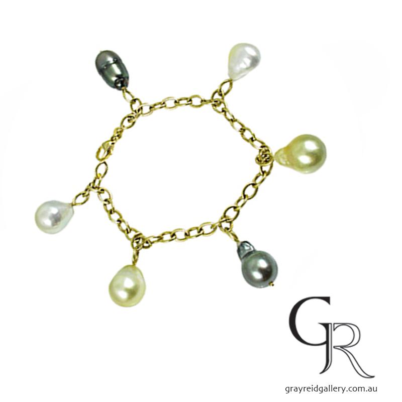 Tahetian Pearl Bracelets Melbourne Gray Reid Gallery.jpg