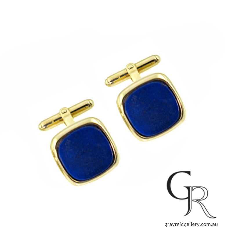 Gold Cufflinks Melbourne Gray Reid Gallery.jpg