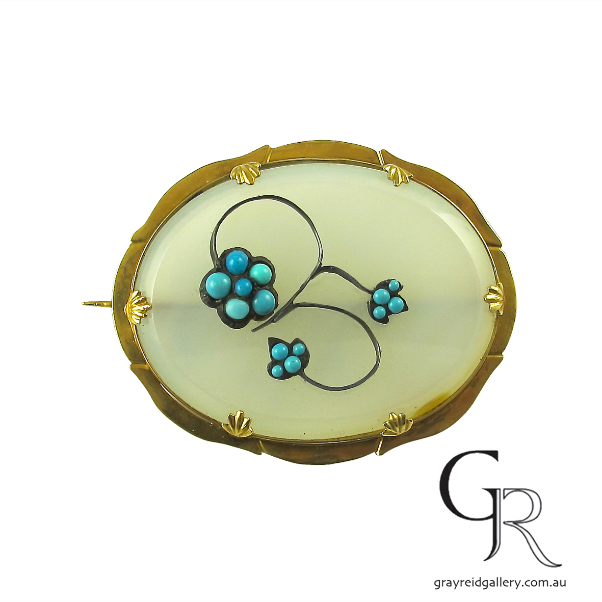 chalcedony brooch melbourne vintage.jpg